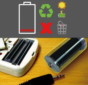 باتری خورشیدی قلمی